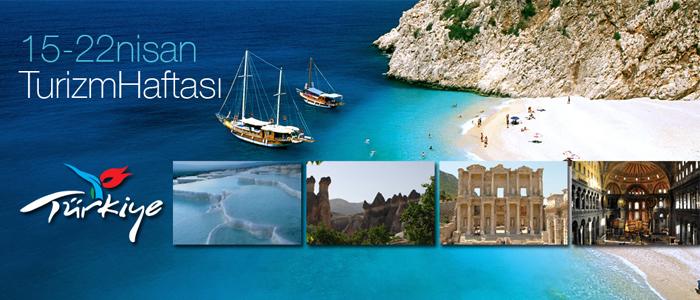 15-22 Nisan Turizm haftası