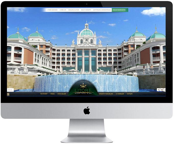 Litore Hotel web