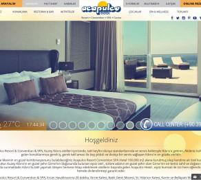 Acapulco Otel Web Sitesi Tasarımı