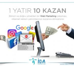 İDA Web Marketing 1 yatır 10 kazan