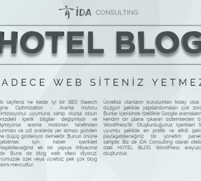 hotel blog, ugursalugur.com, ida consulting, Uğursal Uğur